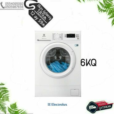 Öndən Avtomat Washing Machine Zanussi up to 4 kq