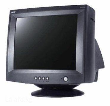 "жк монитор acer v203h в Кыргызстан: Монитор 17"" Acer AC713 (CRT, 1280x1024 Black)"
