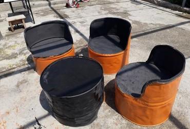 бачок для унитаза в Азербайджан: Bacok stullar 3 eded 1 eded qabaq stolu