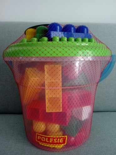 Plastične kocke za decu,firme Polesie,od 57 komada,u plastičnoj - Obrenovac