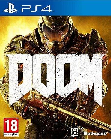 Igrica za PS4 - DOOMPogledajte i ostale na mom profilu. (Slika je