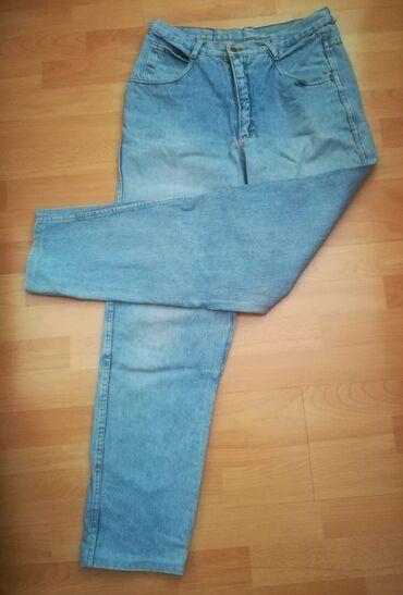 Farmerke UNION vel 32,plave, obim struka 74 cm, dužina 105 cm, obim