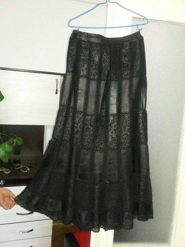 Женская одежда в Каинды: Юбка кожаная. Размер 50. Почти новая