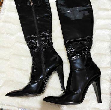 Женская обувь в Бишкек: Сапоги от известного бренда Vicino.Качество высшее, состояние отличное