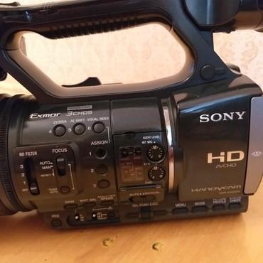 full hd видеокамеры в Азербайджан: Sony ax-2000E Satılır, Çox ideal vəziyyətdə problemsiz cızığsız