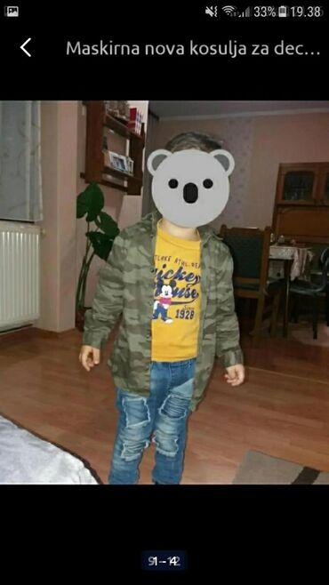 Dečiji Topići I Majice | Sokobanja: Kosulja maskirna kao novavel.2-3.pogledajte i ostale moje oglase