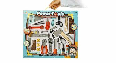 Veliki set alata za dečake Power Tools1690 rsdVeliki set plastičnog