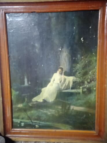 Продаю антиквар картину,Дунная ночь,, автор: И. Крамекого