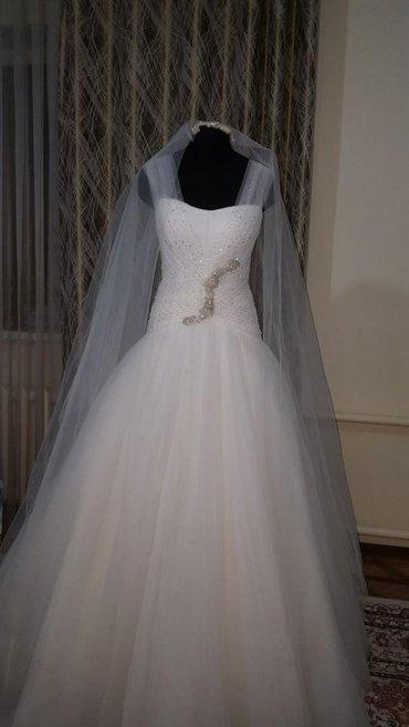 Продаю!  новое свадебное платье  Россия  размер-42 в Бишкек