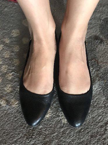 черные-женские-туфли в Кыргызстан: Балетки кожаБрала в ЛионОдела 1 день, размер маленький не смогла