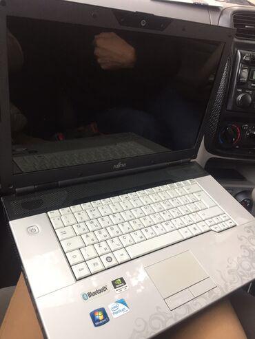 Fujitsu - Кыргызстан: Продаётся ноутбук Fujitsu Состояние 10/10,пользовались очень аккуратно