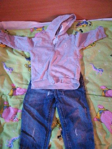 Dečija odeća i obuća - Rumenka: Očuvan komplet za dete od 12do 18 meseci