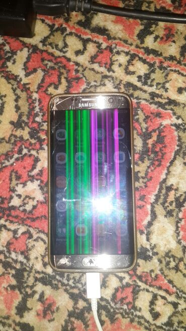 s 6 edge - Azərbaycan: Samsung Galaxy S7 Edge   32 GB   qızılı   İşlənmiş
