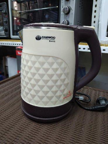 чайник электрический в Кыргызстан: Чайник электрический Daewoo качество хорошее есть бесплатная доставка
