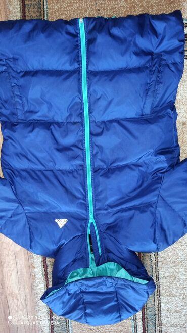 Adidas original zimska jakna. Boja je ljubicasta. Velicina L. Ali moze