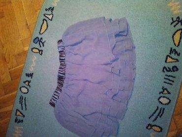 Lagana suknjica u slojevima, lasts oko struka, broj 40, kratka