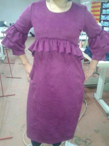 в швейный цех требуется заказчик, шьём кардиганы, платья, юбки, блузки в Кок-Ой