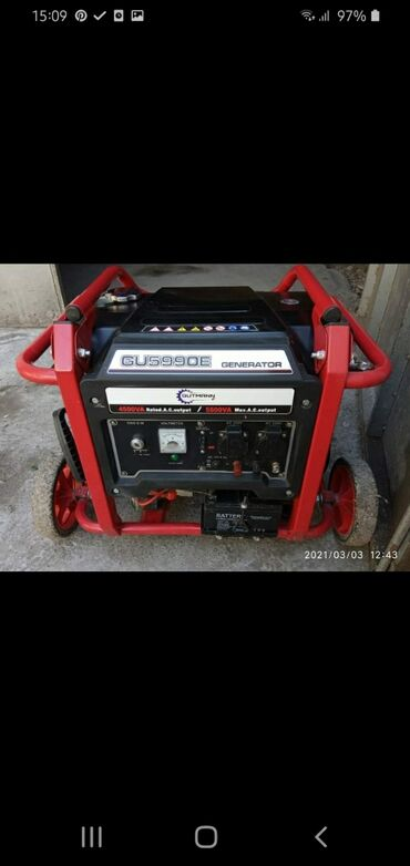 Transformator, Generator