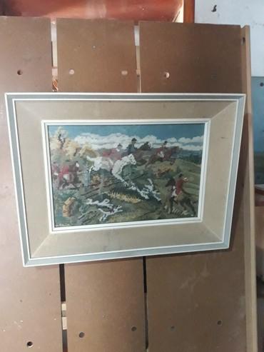 Slike   Zrenjanin: Gobleni, rucni rad. Stari preko 20 godina.Svi ramovi su celi sem slike