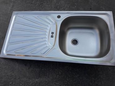 Кухонные мойки в Кыргызстан: Раковина + сифон.Турция.(новая)