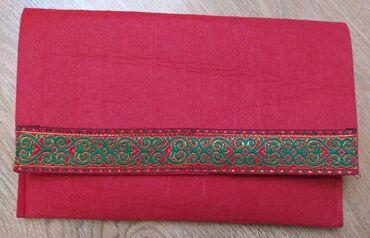 Продаю вязаную сумочку и клатч (национальный) совершенно новые