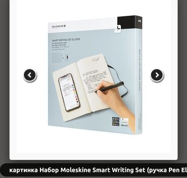 Moleskine Smart Writing Set Ellipse —шикарный деловой аксессуар или