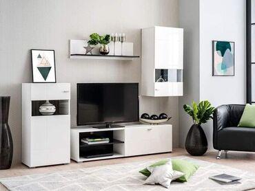 Nameštaj - Odzaci: Na prodaju TV komoda ( 4 elementa ) NOVA !Dimenzije: Sirina: 225,5 cm