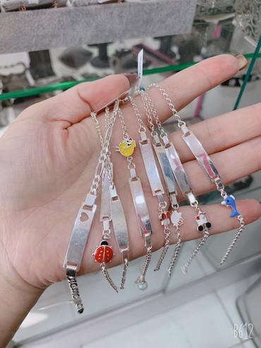 Детский браслет - Кыргызстан: Самый лучший подарок для ваших любимых  Детские серебряные браслеты 92