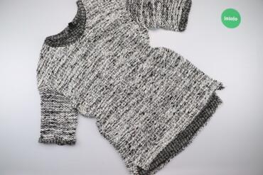 Жіночий светр у рябий принт H&M, p. L    Довжина: 86 см Ширина пле