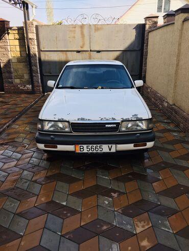 белая mazda в Кыргызстан: Mazda 929 2.2 л. 1989   255455 км