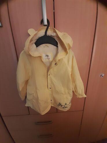 Dečije jakne i kaputi | Novi Sad: Zara jakna za kisu. Kao novo
