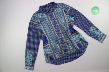 Жіноча сорочка зі стильним принтом Forever21, p. M    Довжина: 68 см Ш