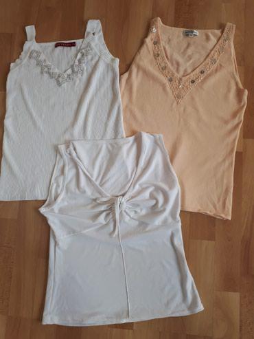 Prelepe kvalitetne majice S/M sve tri za 500!Jako rastegljive, iz - Jagodina