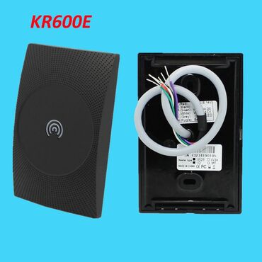 "ego - Azərbaycan: Wiegand RFID Reader ""KR600E"" ZKTeco""Read 125KHz Proximity ID card"