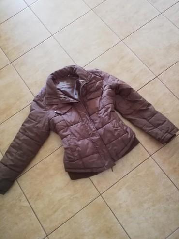Personalni proizvodi - Jagodina: Jesenja jakna, c&a,strukirana, braonVel s. Saljem post expresom