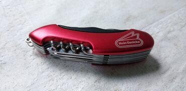 Džepni nož reklamni Hein Gericke. 9,5 cm. sa 11 delova