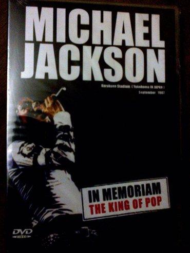 """Prodajem originalni dvd """"michael jackson - in memoriam"""",snimak jednog - Belgrade"""