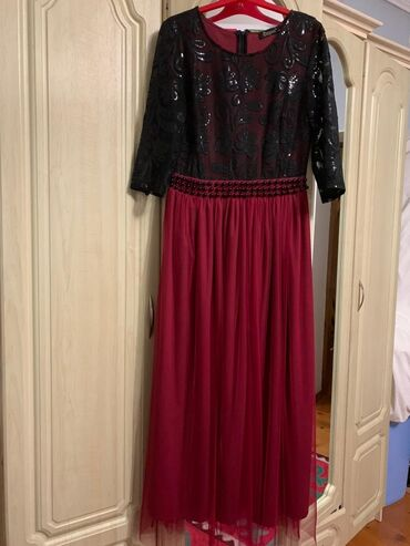 вечернее турецкая платье в Кыргызстан: Продаю платье Платья в хорошем состоянии Турецкие платья Бордовое