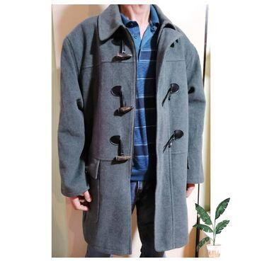 Made in Italy muski kaput/djubretarac. Jako lep I kvalitetan. 80% lan
