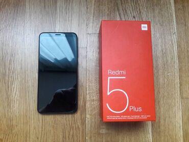 редми нот 5 про цена в бишкеке in Кыргызстан | ДРУГИЕ МОБИЛЬНЫЕ ТЕЛЕФОНЫ: Xiaomi Redmi 5 Plus | 32 ГБ | Черный | Сенсорный, Отпечаток пальца, Две SIM карты