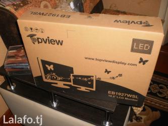 Монитор 19 led новый   в упаковке в Душанбе