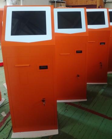 Оборудование для бизнеса в Покровка: Продаю платежные терминалы.Корпус (стандарт) покраска по каталогу