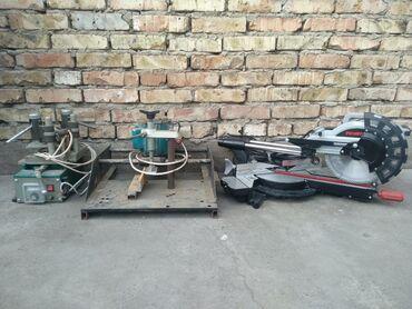 Инструменты - Кыргызстан: Станки пвх окон и дверей. Торцовочная пила/фрезер/утюжок