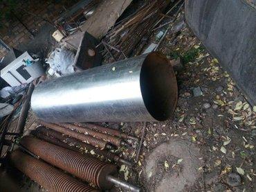 Труба цилиндр из  нержавейка  диаметр 57см t- 2мм длина 1.75см в Бишкек