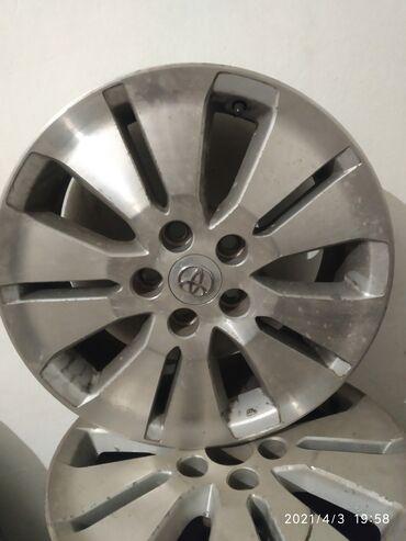 Продаю или меняю поный размер 5/114/3. R17 родной диск от тойота