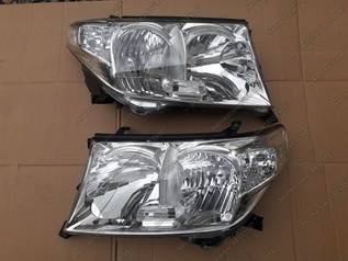 Фары на Toyota Land Cruiser 200 (2007-2011), новые, оригинал, левая (8