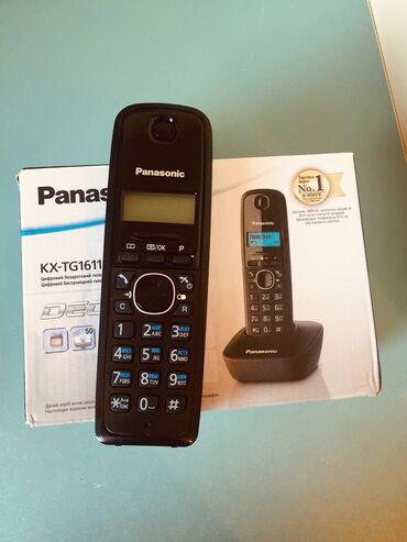 akkumulyator panasonik в Азербайджан: Panasonik telefon teze qutusunda Nomre yazir Qiymeti 55 manat