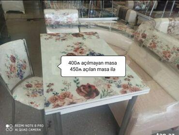 künc mətbəxi - Azərbaycan: Stol StulKünc divanAçılan və açılmayan masa iləStullar iki ədədRəng