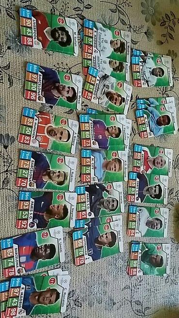Bakı şəhərində Futbolçu şəkilləri satılır.300dən artıqdır.Birlikdı 25 manata.