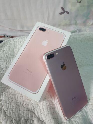 Б/У iPhone 7 Plus 128 ГБ Розовое золото (Rose Gold)